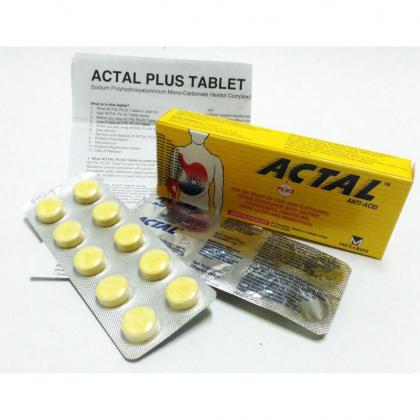 ACTAL PLUS 10'S