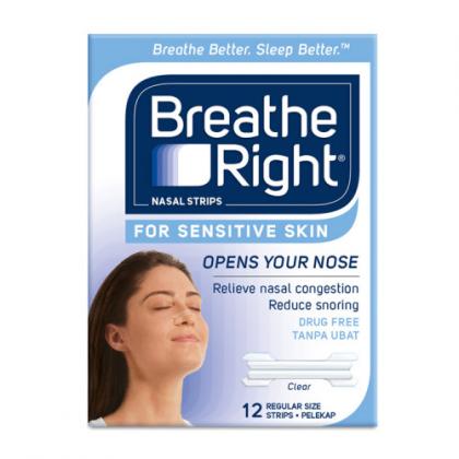 BREATH RIGHT SENSITIVE SKIN 12s