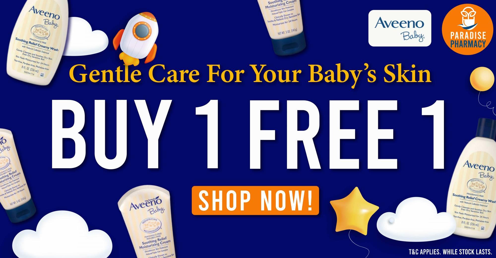 AVEENO BABY BUY 1 FREE 1